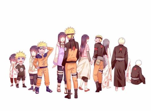 NaruHina - grow old... with you